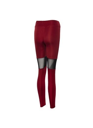 New Balance Team Kadın Kapri Tayt Kırmızı